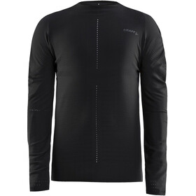 Craft CTM Crewneck Longsleeve Heren, black